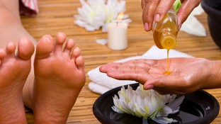 How to Give an Immune-Boosting Foot Massage With Essential Oils