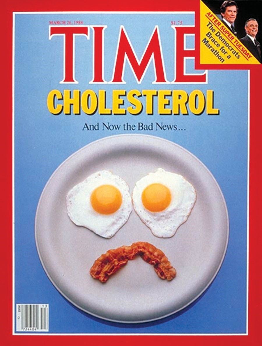 TIME cholesterol cover